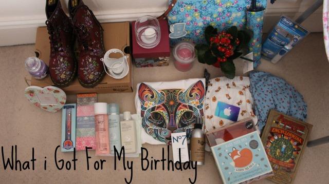 What I Got For My Birthday Katekiwii