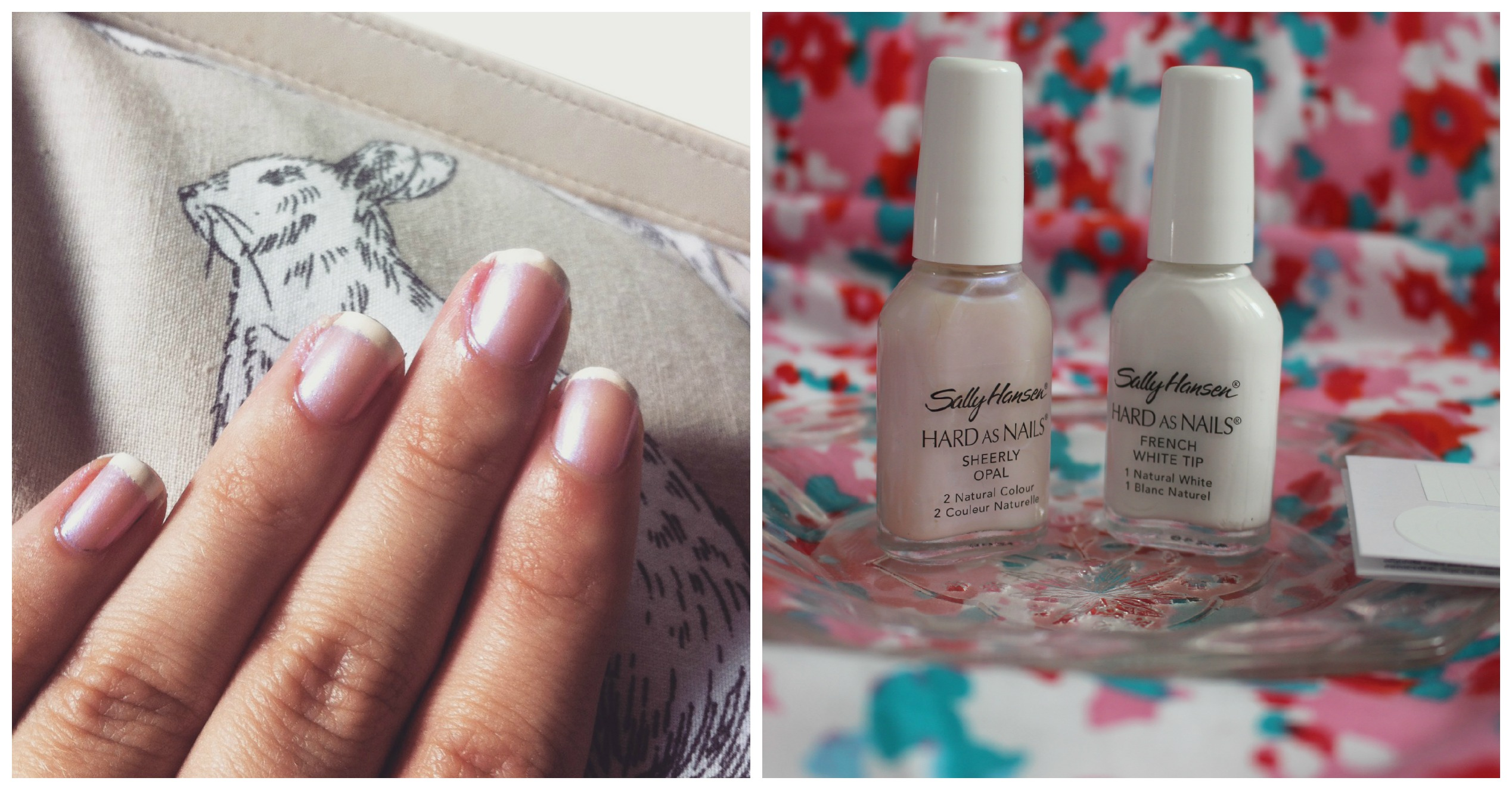 Sally Hansen – French Manicure Kit Opal | Review | KateKiwii